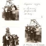 Szkolne wycieczki. Zdjęcia archiwalne.