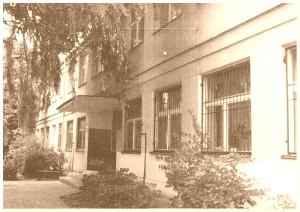 Budynek VII Liceum Ogólnokształcącego  im. Marii Konopnickiej - lata 70-te XX w.