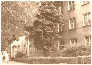 Budynek III Liceum Ogólnokształcącego im. Unii Lubelskiej w Lublinie  - lata 1966-1967